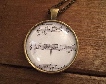 Beethoven's Moonlight Sonata Necklace
