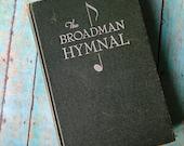 Broadman Hymnal Praise Book, Vintage Song Book Hymns, Church Hymnal, Bible Journaling, Art Journaling
