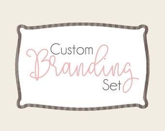 Branding Package, Identity Branding Kit, Logo Design, Watermark, Business Card, Business Branding