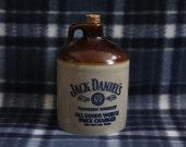 Jack Daniels Stoneware Jug