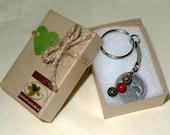 1999 Irish 10p Coin Keyring/17th Birthday or Anniversary Keepsake/Vintage Keychain/Lucky Charm Keyring from Ireland