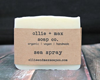 Sea Spray Soap, Natural Soap, Vegan Soap, Organic Soap