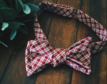 Bow Tie || Picnic Plaid
