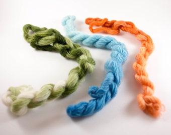 Mini Skeins, Gradient Yarn, .6 oz., 104 yds.