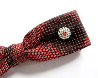 1950s Clip On Bowtie // Hipster Geek Bow Tie