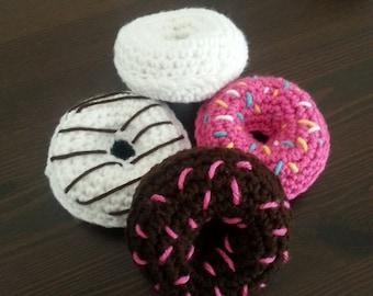 Play donuts,crochet donuts, crochet food