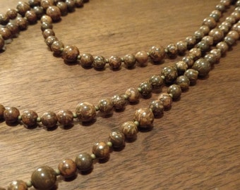 Very Long Starstone Necklace (N1004)