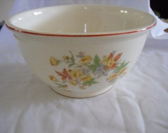 Vintage Homer Laughlin Mixing Bowl Kitchen Kraft Kitchen and Dining