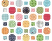 Key to My Heart Quilt Pattern in 7 Sizes from Wall to King ~ Quick and Easy Layer Cake and Yardage Friendly PDF Pattern ~ BusyHandsQuilts