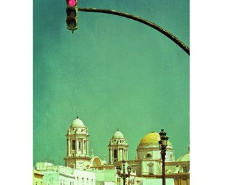 "Spain photography, Cadiz, travel photography, large photography - ""Modern Nomads"""