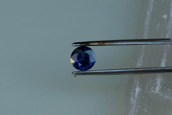 Dark Blue Sapphire For Custom Engagement Ring Or Jewelry 6