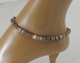 Shell ankle bracelet, anklet, beach jewelry,