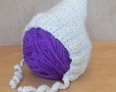 Knit Hat for 16-inch Waldorf Doll  **Natural Cream**
