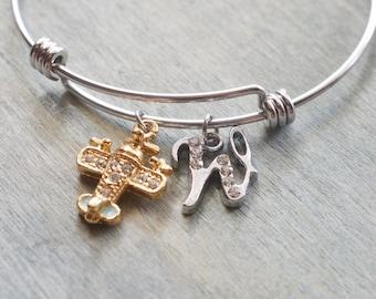 airplane bangle, airplane jewelry, travel jewelry, pilot gift, stewardess, best friends, couple gifts, aeroplane jewelry, personalized gift