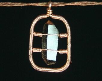 Smoky Quartz Pendant, Smoky Quartz Crystal