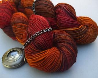 Soft Socks 4 ply Yarn. Blaze of Glory