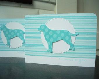 Handmade Dog Sympathy Card, Pet Sympathy Card