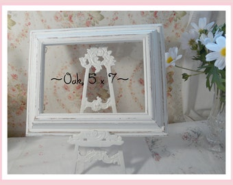 Beautiful Oak Picture Frame 5 x 7 inches~