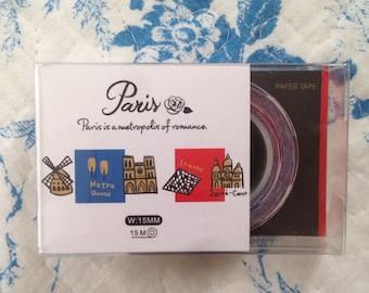 NEW Japanese masking tape PARIS