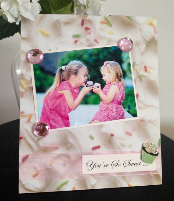 You're So Sweet Cupcakes Magnetic Frame
