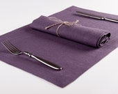CUSTOM 12 soft linen table napkins