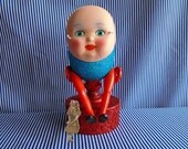 Humpty Dumpty in Red and Blue