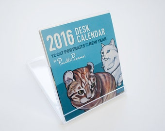 2016 Cat Desk Calendar by Pawblo Picasso