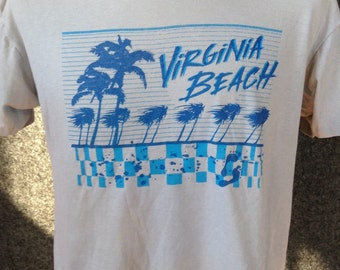 1980's Virginia Beach t shirt USA