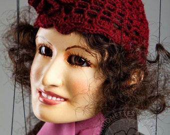 """The Lady – Mother from Charlie Chaplins movie """"Kid"""" by Czech Marionette"""