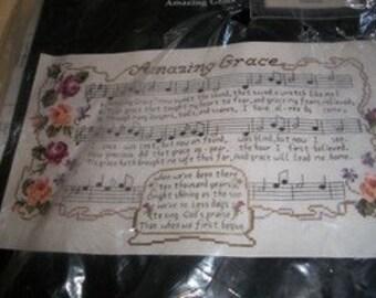Amazing Grace Counted Cross Stitch Kit