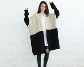 Valentines day SALE!Color block Poncho