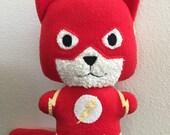 Flashcat, The Flash Comic Cat Stuffed animal plush