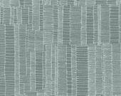 Doe Ladder Lines in Shale, Carolyn Friedlander, Robert Kaufman Fabrics, 100% Cotton Fabric, AFR-15026-335 SHALE