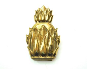 Vinage Brass Pineapple Door Knocker