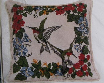 Its Polite To Point Ruby Hummingbird Needlepoint/Tapestry Kit