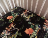 Disney's Toy Story . Baby CRIB or TODDLER fitted bed SHEET .. sewn by me