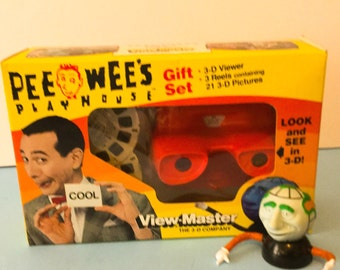 Pee Wee Herman View-Master Gift Set