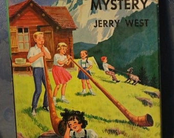 Happy Hollisters Childrens Book Swiss Echo Mystery Jerry West Helen S Hamilton 1963