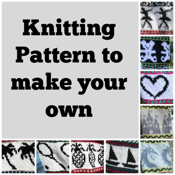 Knitting Pattern Collection of 16 Christmas Stockings Charts fair ...