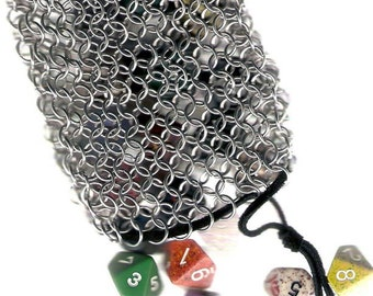 Medium Chainmail Dice pouch