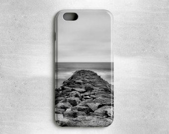 Beach iPhone Case Black and White - Available for iPhone 6, iPhone 5s/5, iPhone 5c, iPhone 4s/4, iPhone 3g/3gs, Samsung Galaxy S4, Galaxy S5
