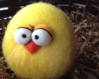 Custom Needle Felted Micro Easter or Anytime Chick