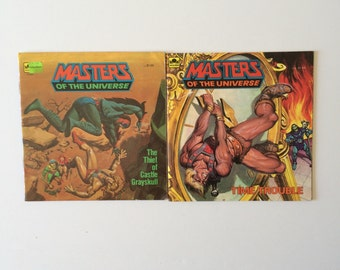 1980's Masters of the Universe He Man Books
