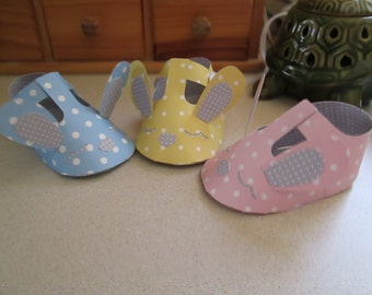 Baby Bunny Shoe Candy Boxes Set of 12