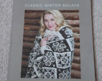 Rowan Classic Winter Solace knitting  pattern book