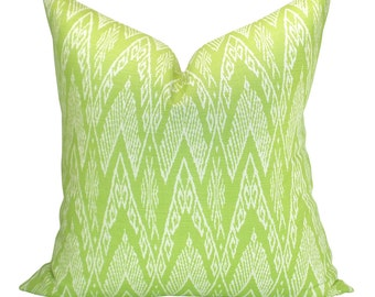 Raffles Reverse pillow cover in Jungle Green on Tint