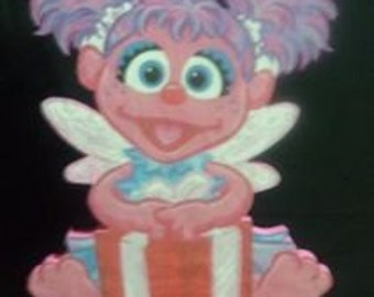 CLEARENCE - Abby CAdabby birthday party centerpiece -PNT