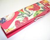 Valentine Vintage Clothespin Jumbo Decoupaged