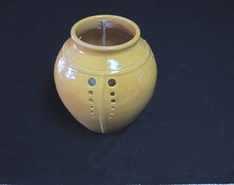 Deco Globe Vase test yellow PD vase