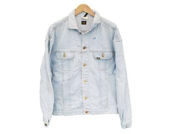 Vintage LEE 1889 Denim Jacket - XL (24731)